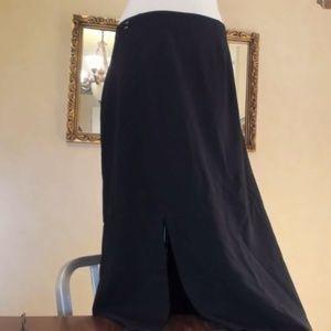 Black Dressy Maxi Skirt 22W